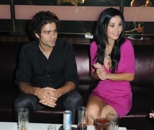 Entourage star Adrian Grenier and Poker Hottie Jayde Nicole