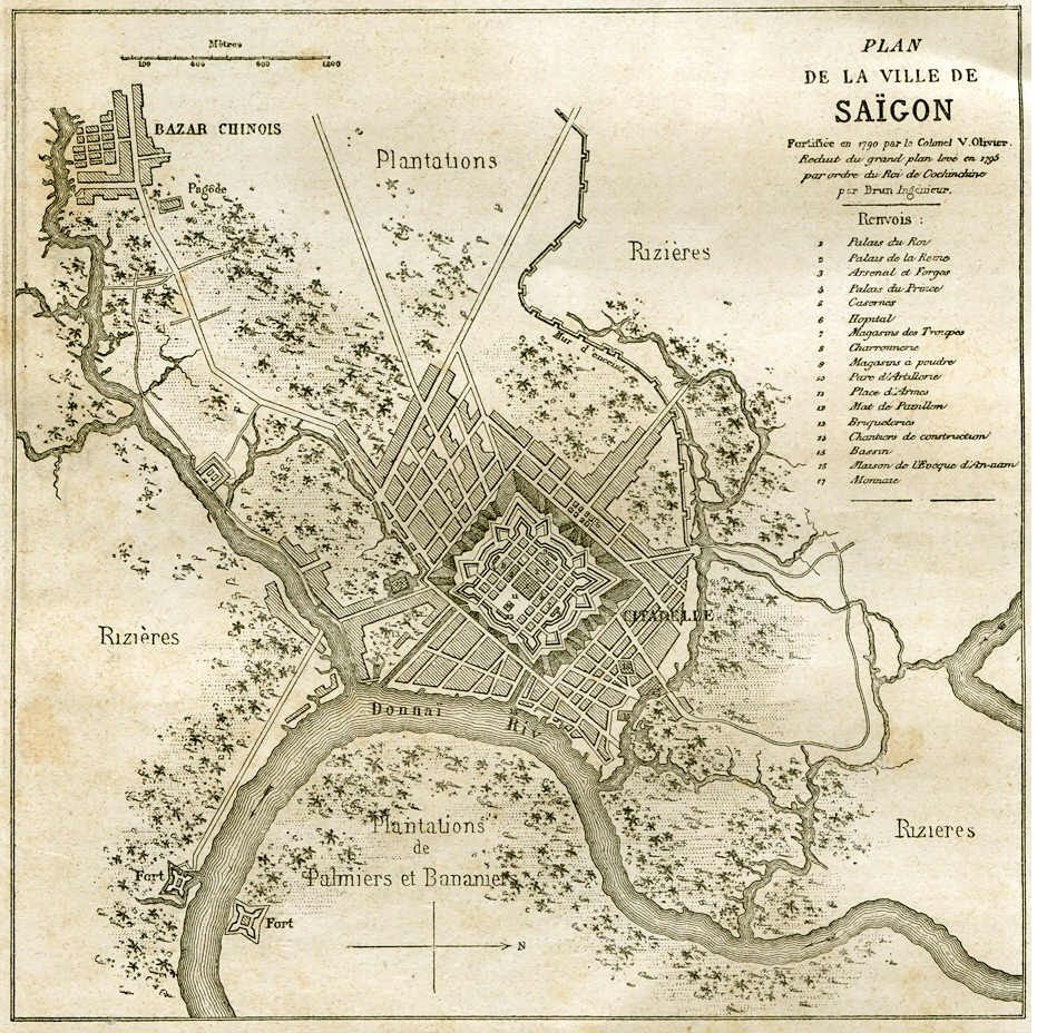 the first settlements in the area of today s old town of saigon date back to khmer times from 1st to 6th century it was rather a loose gathering of