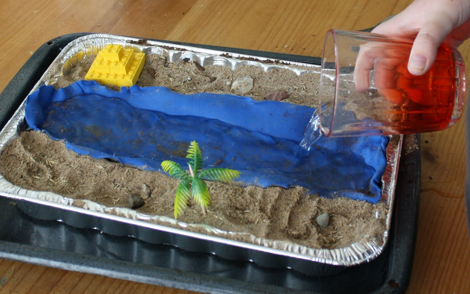 once upon a family nile river diorama