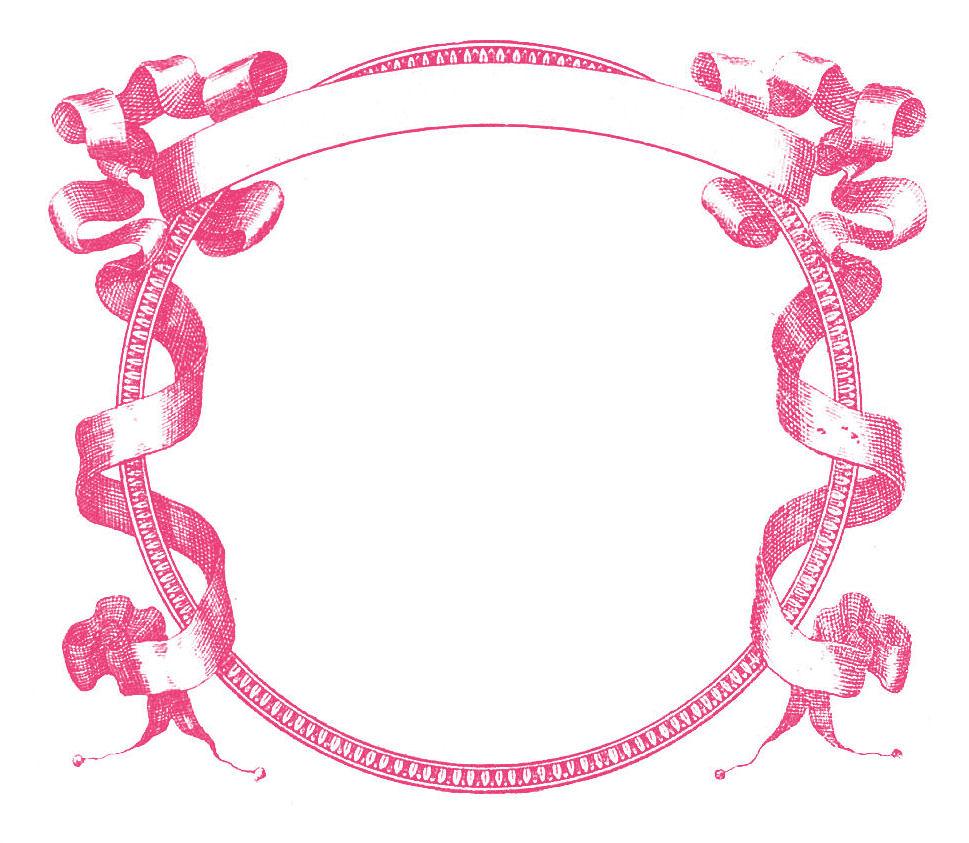 Pink Frame Clip Art