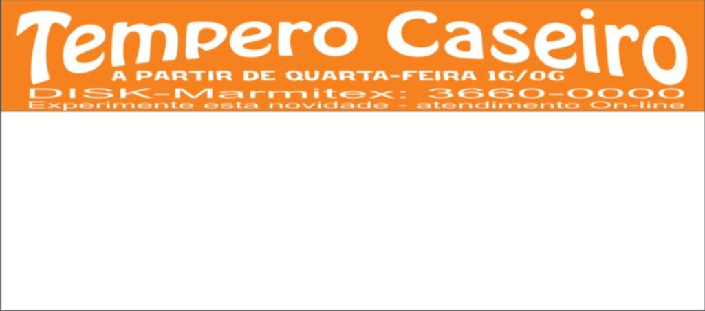 Disk Tempero Caseiro