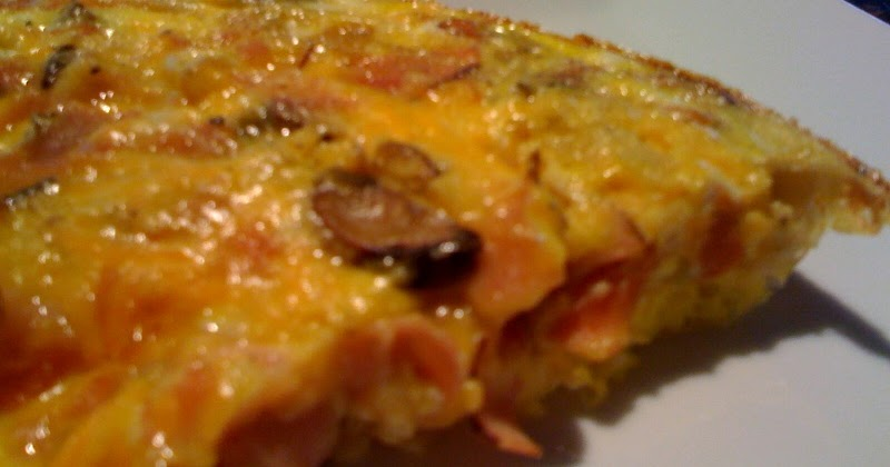Kelly's Healthified Kitchen: Ham, Mushroom & Cheddar Frittata