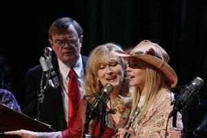 Garrison Keillor, Meryl Streep y Lindsay Lohan en El último show