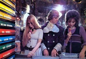 Malcolm McDowell en La naranja mecánica