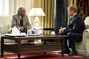 Morgan Freeman y Matt Damon en Invictus
