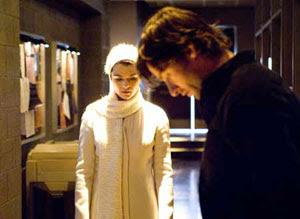 Rachel Weisz y Hugh Jackman en La fuente de la vida