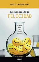 Portada de La ciencia de la felicidad, de Sonja Lyubomirsky