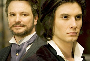 Colin Firth y Ben Barnes en El retrato de Dorian Gray