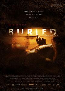 Cartel original de Buried (Enterrado)