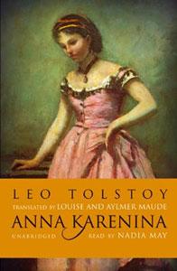 Portada de Anna Karenina, de León Tolstói