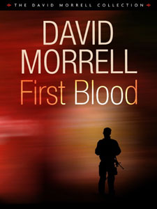 Portada americana de Primera sangre, de David Morrell