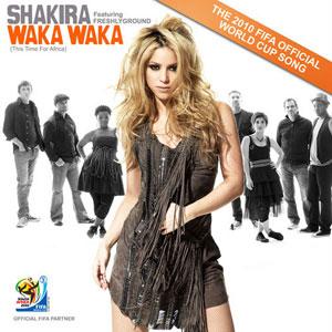 Portada del single Waka Waka, de Shakira