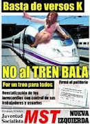 NO AL TREN BALA