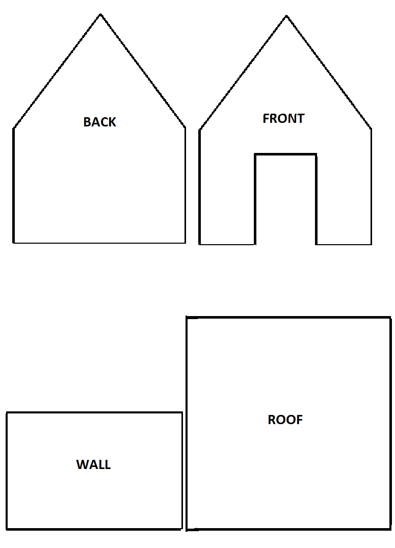 This is an image of Insane Gingerbread House Templates Printable