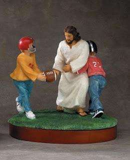 Jesus fumbles?