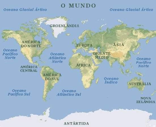 <b>Mapas</b>. <b>Mapa Mundi</b>