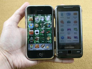 Samsung i900 Omnia is a touch screen 3G Smartphone