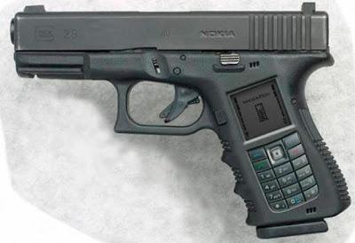 Nokia Gun -a concept phone