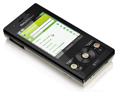 Sony Ericsson G705- A traditional phone