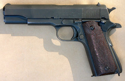M 1911 Small arms etc.: Colt .45 Model 1911 and some variants