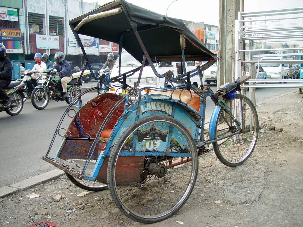 Bicycle Transport in Indonesia