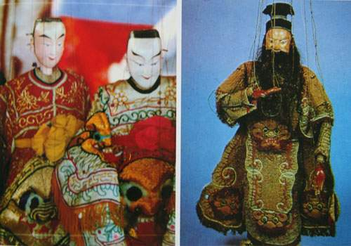 Chinese String Puppets