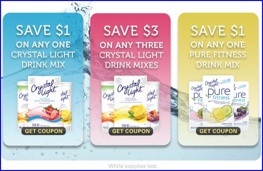 Free printable coupons crystal light