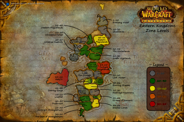 guide wow alliance leveling for