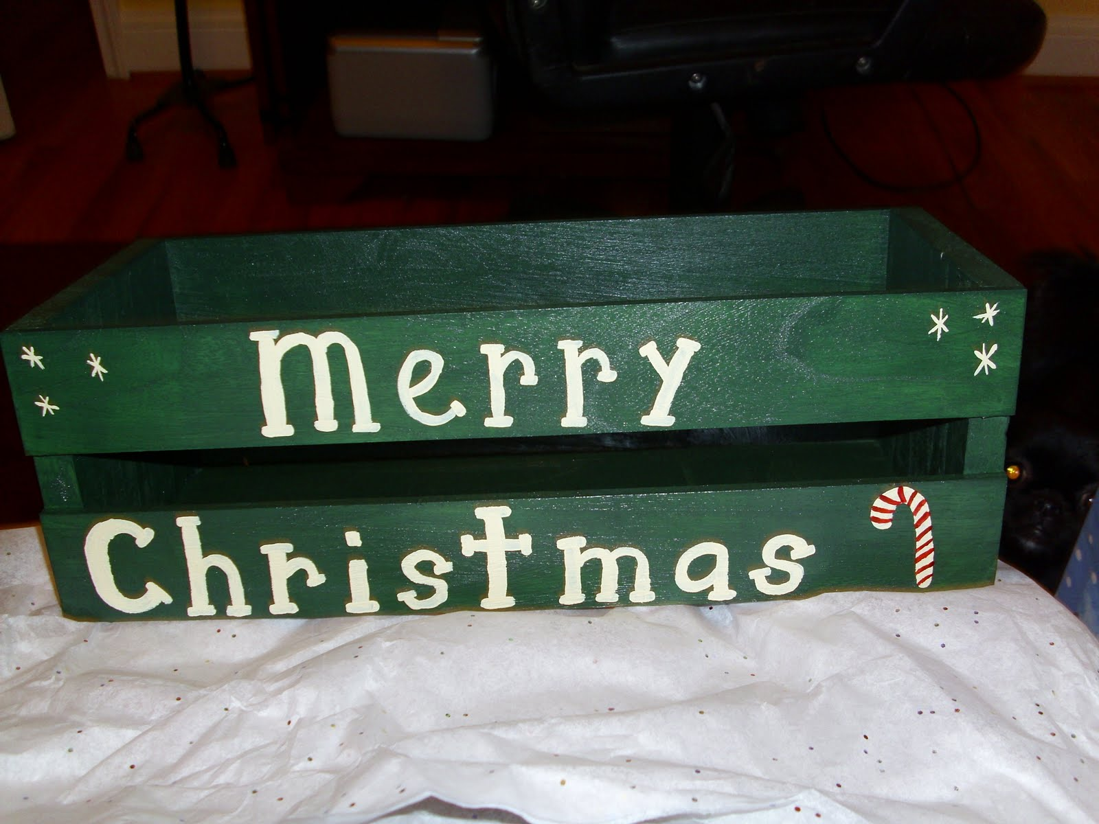 [Handpainted+Merry+Christmas+box]