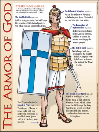 Anglicans Ablaze Put On The Whole Armor Of God