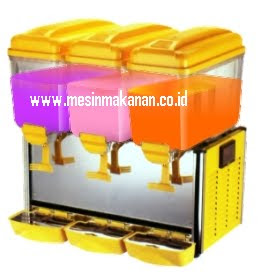 Mesin Juice Dispenser 3 Kran