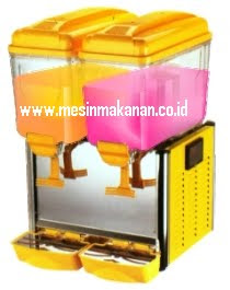 Mesin Juice Dispenser 2 Kran