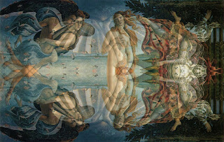 Birth of Venus, mirrored