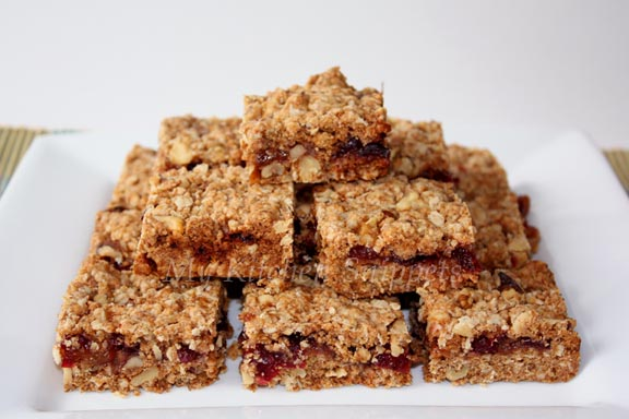 My Kitchen Snippets: Cranberry Oatmeal Bars