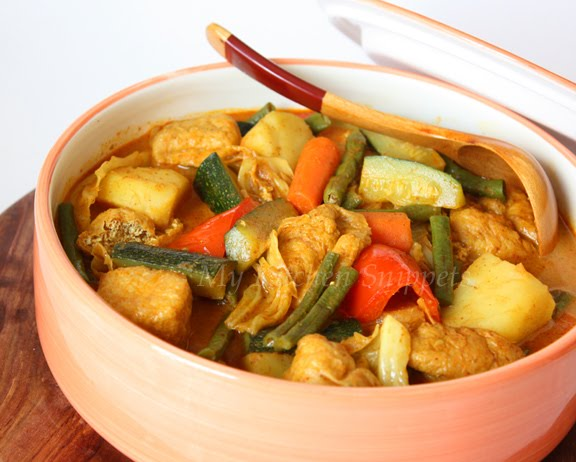 My kitchen snippets nyonya vegetable curry my kitchen snippets forumfinder Choice Image