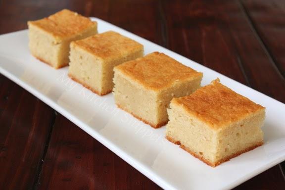 My Kitchen Snippets Baked Cassava Cake