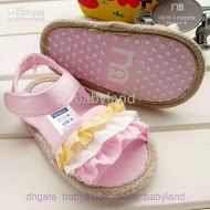 #30 Mothercare (12.5cm & 13.5 ) -LIGHT PINK PINK --2 PAIR X RM 20= RM 40