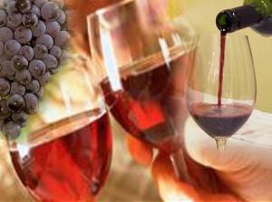 Risotto al vino rosso e uva un piatto portafortuna