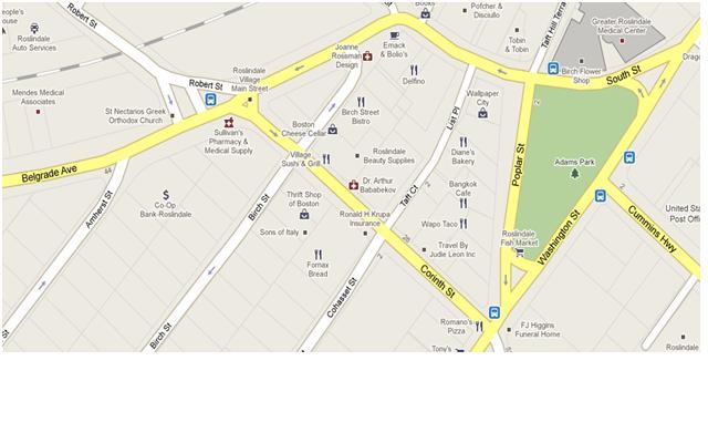 Corinth Washington Map.Calm Streets Boston Sharrows At Gap In Washington Street Belgrade