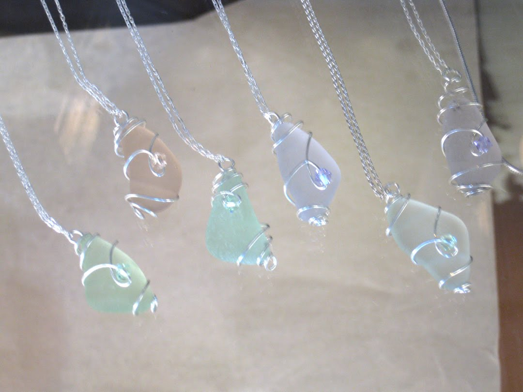 Open Heart Necklace: Glass Jewelry Glass Suppliers