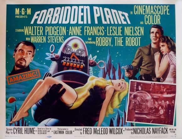Open the Pod Bay Doors, HAL: Forbidden Planet (1956 ... Forbidden Planet 1956 Poster