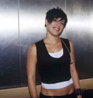 p!nk black hair  NK - Short Black Hair