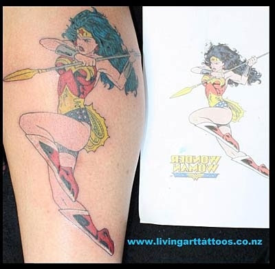 Published By admin under arts Tags: super hero, super hero tattoos. Super hero tattoos (Group) Cartoon Tattoos