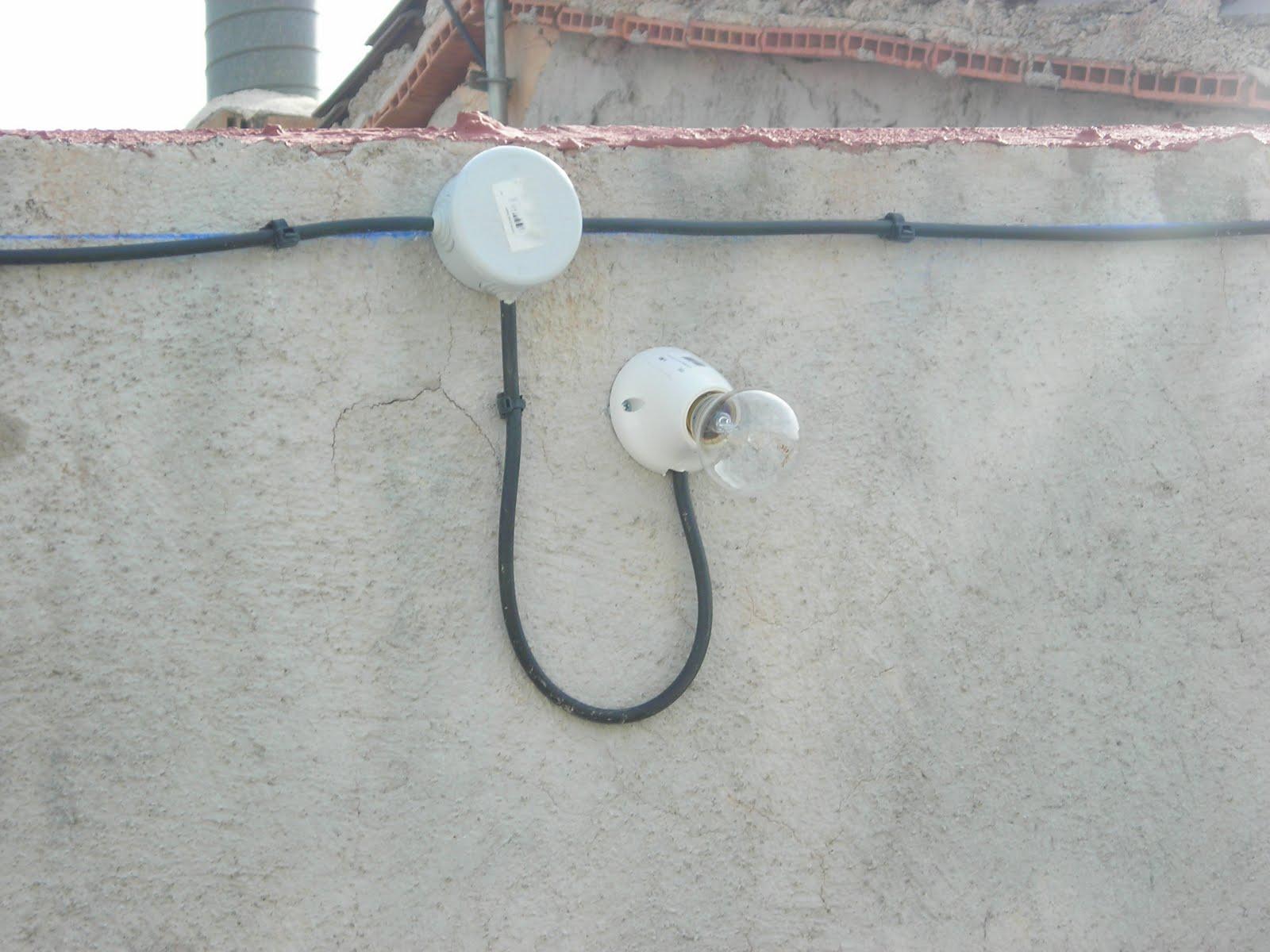 instalacion electrica exterior