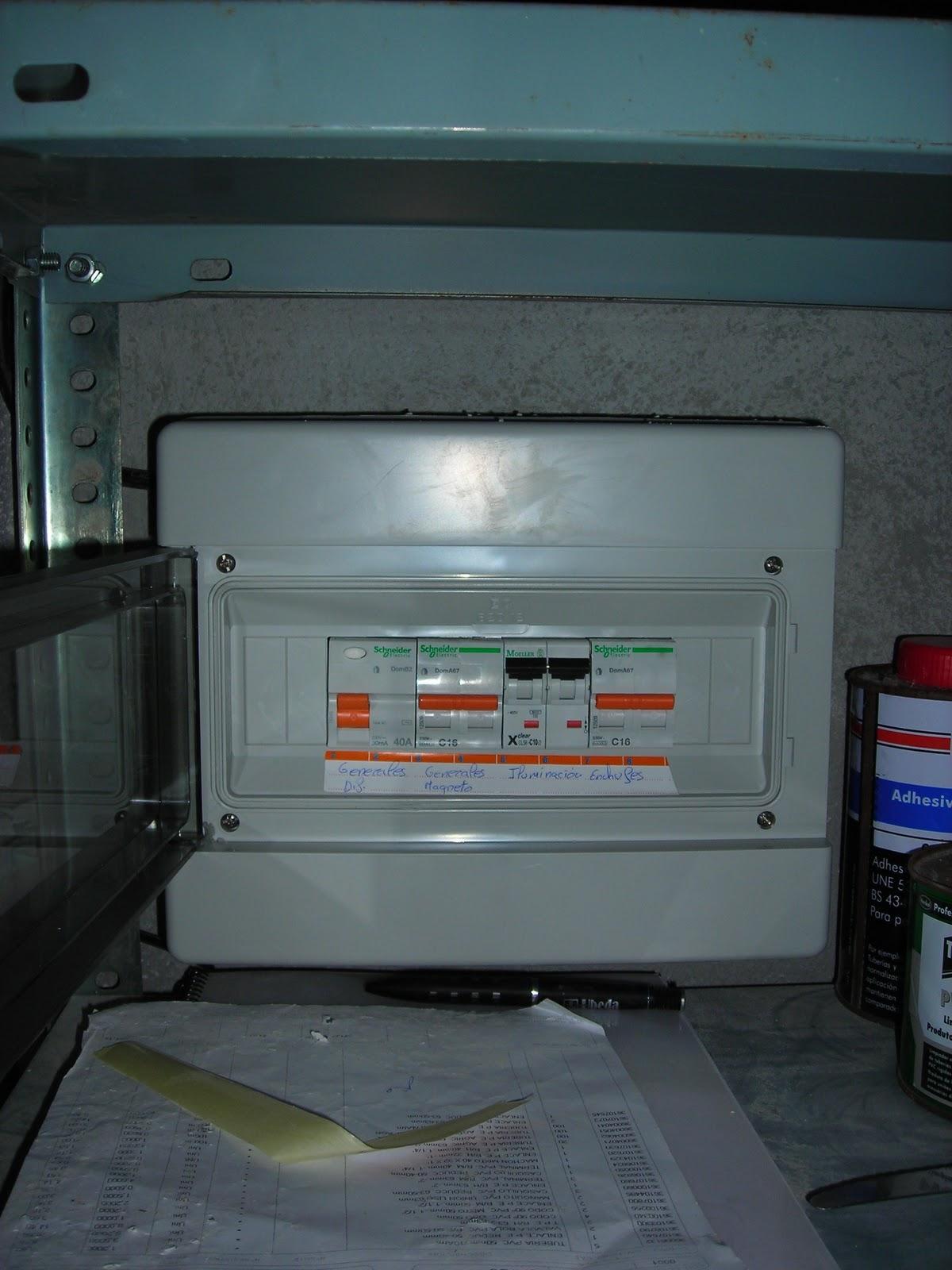 Electricidad jos miguel instalaci n electrica de una - Instalacion de electricidad ...