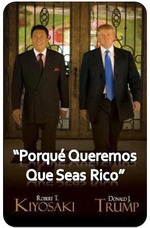 Donald Trump y Robert Kiyosaki