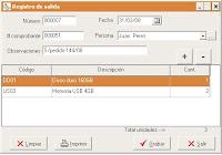 Software Control de inventarios en Bodegas