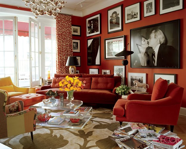 Red Room Decor