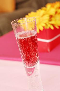 Girl in the World: Valentine's Day Champagne Punch