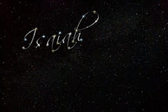 Isaiah's name in the stars